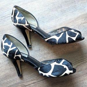 Steve Madden 8.5M Lejune-G peep toe heels
